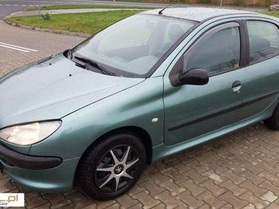 używany Peugeot 206 1.1dm 60KM 2000r. 124 000km