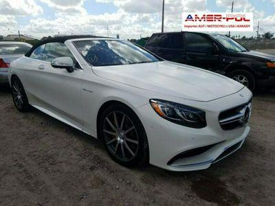 używany Mercedes S63 AMG AMG 5.5dm 577KM 2017r. 9 900km
