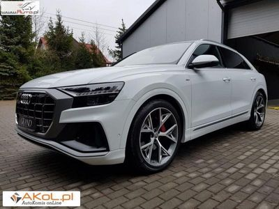 używany Audi Q8 3dm3 285KM 2018r. 11 000km S Line 3.0 TDI Full