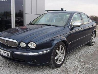 gebraucht Jaguar X-type I 2.0 TDi 130KM 2007r. 206 tys. km. PL Salon, Climatronic, białe skóry