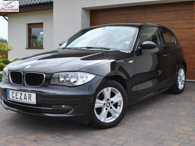 używany BMW 116 1.6dm3 122KM 2008r. 175 200km 1.6 benzyna z Niemiec 122KM 6 biegow klimatronic 3 drzwi 08r Cz wa