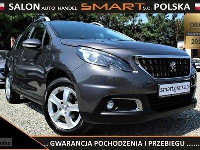 używany Peugeot 2008 1.2dm 82KM 2017r. 17 935km
