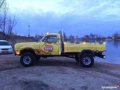 używany Dodge Ram w300 5.9 v8 LPG Żółte Tablice Zabytek Okazja