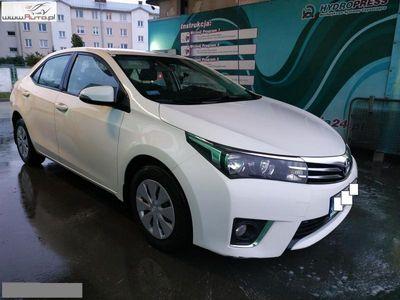 used Toyota Corolla 1.4dm3 90KM 2014r. 136 000km 1.4 D-4D SALON PL, SERWIS ASO 2014/15