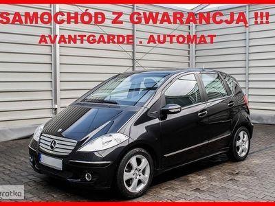 używany Mercedes 200 Klasa A W169AVANTGARDE + Automat + Klimatronik + Skóra + SERWIS !!!, Leszno