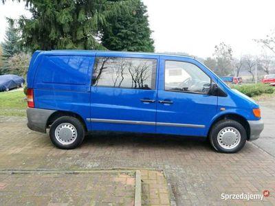 używany Mercedes Vito 2,3 D bez turbo 6 Osobowy bez korozji Polecam W638 (1996-2003)