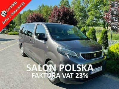 używany Peugeot Expert TRAVELLER Long 1.6 blueHDI 115 KM Salon PL 9 osobowy Serwis ASO