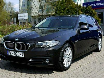 używany BMW 525 2dm 218KM 2015r. 152 000km