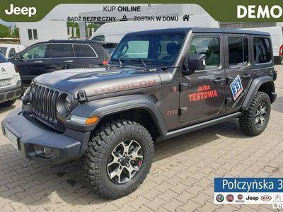 używany Jeep Wrangler JL Unlimited Rubicon 2.0 272KM   Grafitowy   Demo Dealer'a