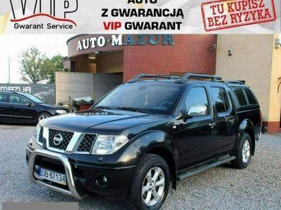 używany Nissan Navara 2.5dm 174KM 2006r. 140 000km