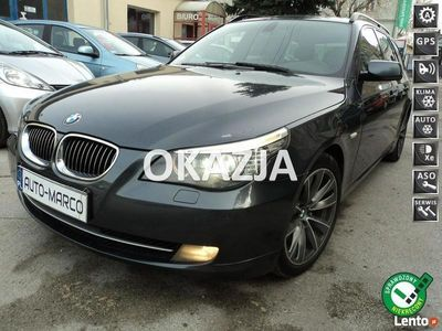 używany BMW 520 2dm 164KM 2008r. 245 000km