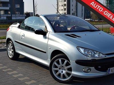 używany Peugeot 206 CC I Śliczne Cabrio Skóry twardy dach mały przebieg