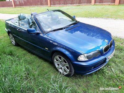 """używany BMW 320 Cabriolet Seria 3 Ci E46 17"""" 2,2 R6 170KM 6 cylindrów"""