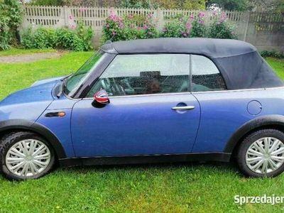 używany Mini One Cabriolet kabriolet niebieski pdc podgrzewane fotele