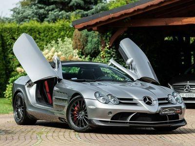 używany Mercedes SLR McLaren SLR 5.4dm3 650KM 2009r. 42 000kmRoadster 722 S. Salon PL. 1 właściciel.
