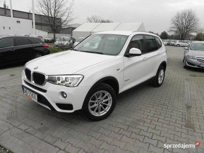 używany BMW X3 2dm 190KM 2015r. 84 599km