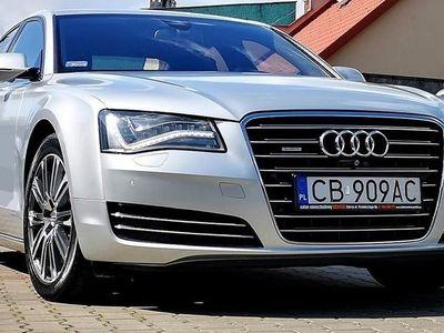 używany Audi A8 III (D4) 4,2 TDi Salon PL 1 ręka Full LED+Night View+360°