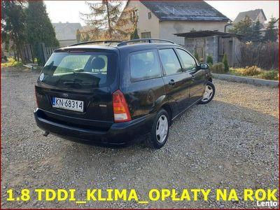 używany Ford Focus 2004 r_1.8 TDDI_Klima_Elektryka_Długie Opłaty_100 % do Jazdy