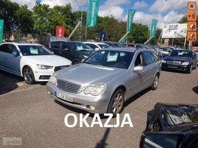 używany Mercedes 170 Klasa C W203 2.6 BenzynaKM, Klima, Alufelgi x2, Tempomat, Okazja !!!