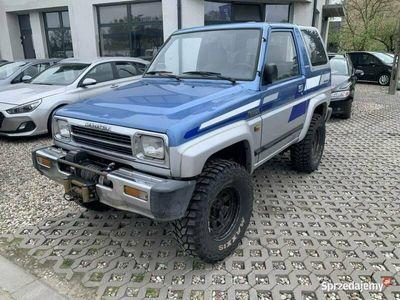 używany Daihatsu Rocky FerozaJimmy Patrol Vitara 1.6B 4x4 Wyciągarka Cabrio !