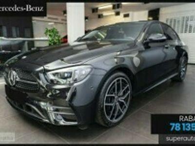 używany Mercedes 220 Klasa E 2.0 (195KM)  Pakiet AMG + Pakiet Premium Plus
