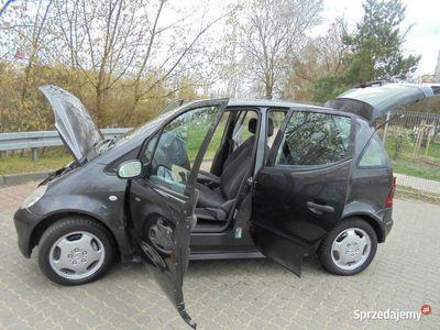 używany Mercedes A140 GAZ 2000 - XI / 2001, klima, przeglad I 2021