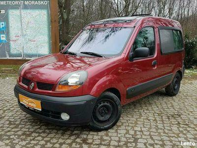 używany Renault Kangoo *BEZWYPADKOWY*Klima*Faltdach*KALEIDO*WEBASTO* II (2003-2008)