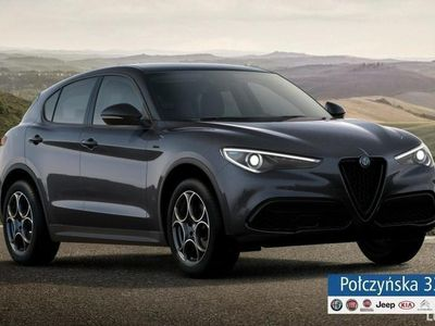 używany Alfa Romeo Stelvio Sprint Q4 2.0 200 KM AT | Szary Vesuvio | Nowa wersja | 2020