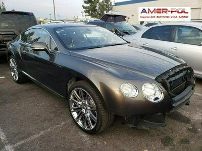 używany Bentley Continental GT 6dm 616KM 2013r. 40 600km