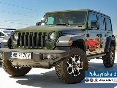 używany Jeep Wrangler 2dm 272KM 2021r. 2km