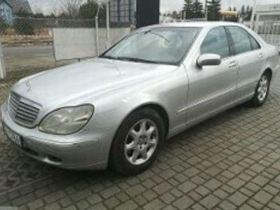 używany Mercedes S320 Klasa S W220CDI