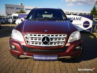 używany Mercedes ML350 3dm 224KM 2009r. 294 120km