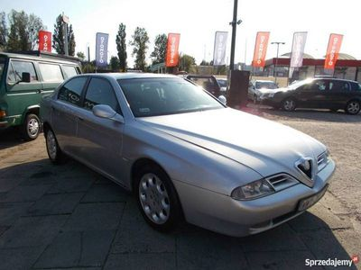 używany Alfa Romeo 166 2.4dm 150KM 2003r. 293 000km