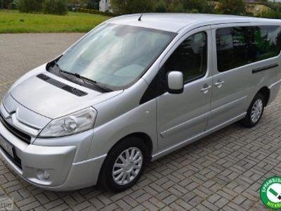 używany Citroën Jumpy II 9osobowy 2.0HDI 120KM LONG/klimatronik/2xdrzwi/