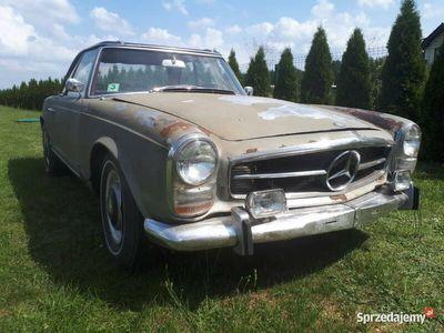 używany Mercedes 230 w113 pagodemanual