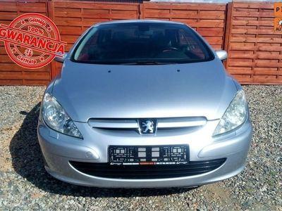 używany Peugeot 307 CC 2dm3 136KM 2004r. 250 000km 2.0 Benzyna - Klimatyzacja automatyczna - Tempomat - Skóry