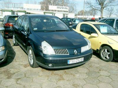 używany Renault Vel Satis szary 150KM nieuszkodzony manualna skrzynia biegów 2188cm3