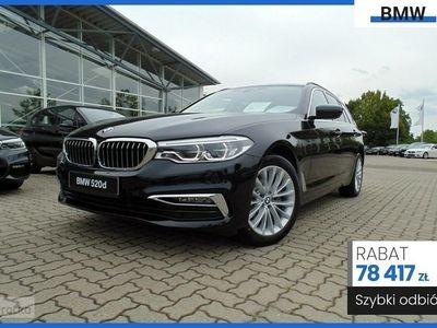 używany BMW 520 SERIA 5 VII (F90) 520 2.0 d xDrive (190KM) | LUXURY LINE | Bezpieczny zakup auta z