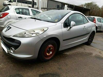 używany Peugeot 207 CC 1.6dm 1KM 2007r. 101 256km