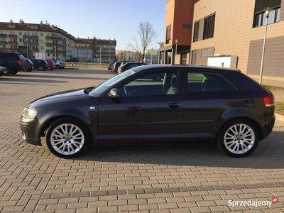 używany Audi A3 2.0tdi rok 2006 zarejestrowany klima okazja zamiana