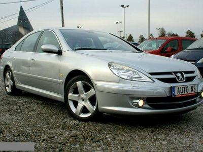 używany Peugeot 607 2.7dm 204KM 2005r. 172 000km