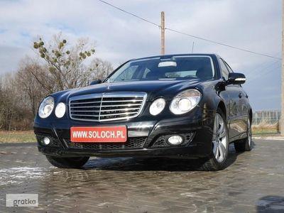 używany Mercedes 200 Klasa E W212FL 2.2CDI 136KM Sedan Automat -FILM VIDEO +Koła zimowe