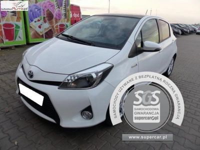 używany Toyota Yaris Yaris 1.5dm3 75KM 2013r. 99 377km1.5 HYBRID Automat, FV 23%, Gwarancja!!