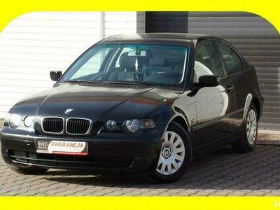 używany BMW 318 Compact Klimatyzacja / / 2002 / 1,8 / 115KM E46 (1998-2007)