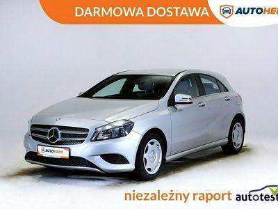 używany Mercedes A180 DARMOWA DOSTAWA, Serwis ASO, Klima auto, Navi, skóra