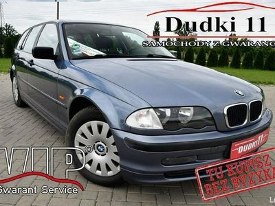 używany BMW 316 1,9b DUDKI11 klimatronic,manual,Opłacony,kredyt, Kombi E46 (1998-2007)