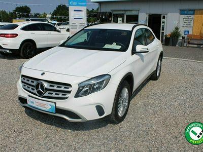 używany Mercedes GLA180 Salon PL,F-Vat,Gwarncja,Tempomat,Biały,ALU,Benzyna
