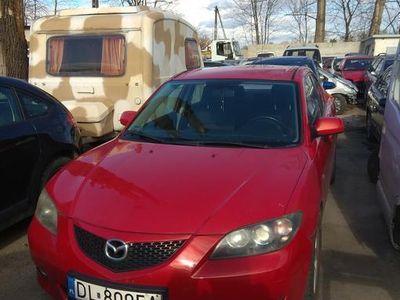 używany Mazda 3 rok 2005 r. 1,6 benzyna czerwona bestia