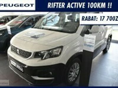 używany Peugeot Rifter Standard ACTIVE 100Km !! Czujniki Parkowania !! Extra Cena !!