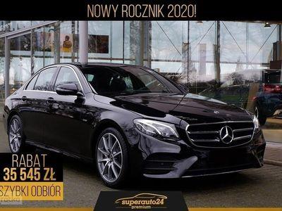 używany Mercedes 220 Klasa E W213 2.04MATIC (194KM) | AMG + Edycja 213 + Premium Plus